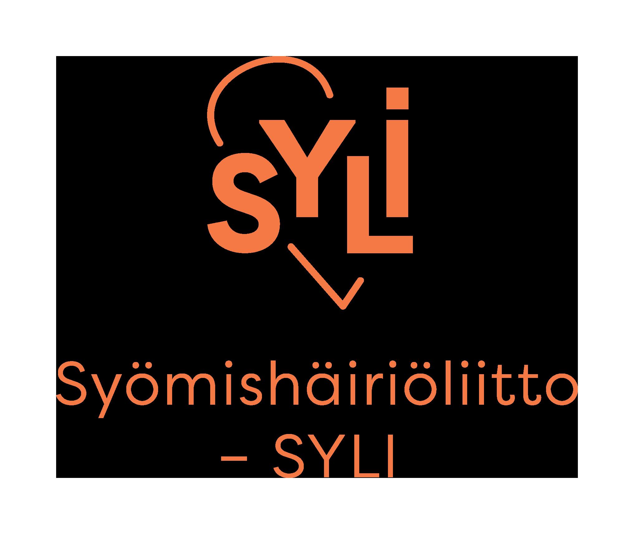 Syömishäiriöliitto – SYLI ry-logo