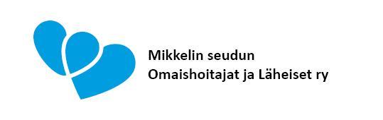 Mikkelin seudun Omaishoitajat ja Läheiset ry-logo