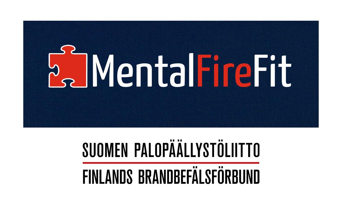Ensilinjan auttajien verkkovertaistuki MentalFireFit - Palopäällystöliitto-logo