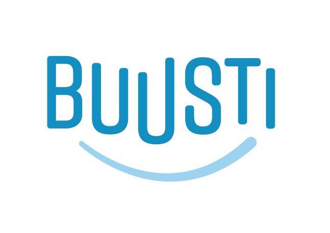 Buusti ry-logo